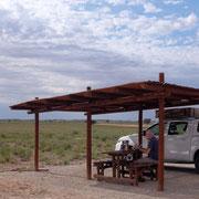 Picnic Site Auchterlonie, Kgalagadi Transfrontier Park