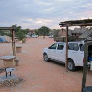 Twee Rivieren Campsite, Kgalagadi Transfrontier Park