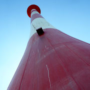 Hoher Leuchtturm Balje, Kehdingen. Foto: ©Rita Helmholtz
