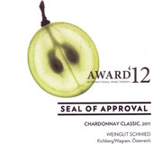 Seal of Approval Chardonnay Classic 2011
