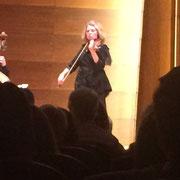 Marina Reshetova solo Konzert im Laeiszhalle, Design von Ruso Mai 2016