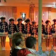 Zu Gast: Die Juniorengarde des CVG