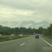 Anreise über Österreich