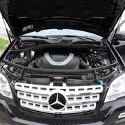 Mercedes ML500 w164 mit Prins VSI