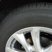 タイヤはトーヨー「ナノエナジー」を使用