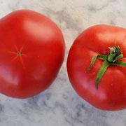 TOM 098 Rote Tomate Zürifescht / ca. 150 gr. Sehr fleischig.