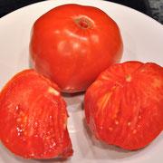 TOM 049 Babuschka / Fleischtomate bis 1000 gr., sehr festes Fleisch