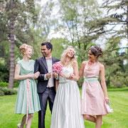 sommerliche Kleider für Hochzeitsgäste