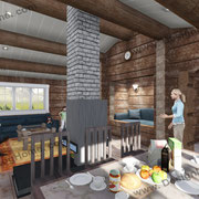 интерьер норвежского дома