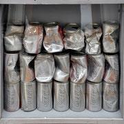 Jürgen Wegener - Werkgruppe Coca-Cola-Bilder - silberdose