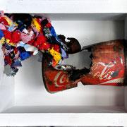 Jürgen Wegener - Werkgruppe Coca-Cola-Bilder - auslaufmodell