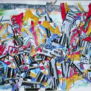 Jürgen Wegener - Werkgruppe Coca-Cola-Bilder - action painting 3