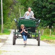 Kutschfahrt mit Bauernhofurlaub á la Bauer Dieter