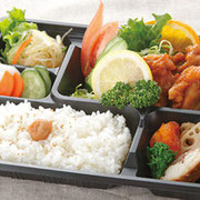 オプションで昼食のお弁当をご準備いたします。