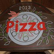 2013年オープンしたピザ釜です。人気は上々!