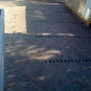 Parkplätze neu Gepflastert Fa.Portas Magstadt