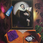 Memento I, Acrylic on canvas, 165x145cm, 2017
