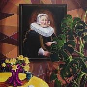 Memento II, Acrylic on canvas, 165x145cm, 2017