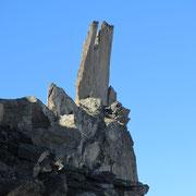 Immer wieder schön: Die bizarren Felsformationen....
