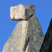 Groteske Felsformationen