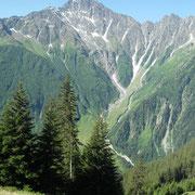 Das Ritzlihorn vom oberen Läger aus gesehen.