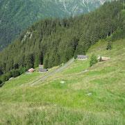 Die Hütten im Wysstanni