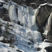 Alles was an die Oberfläche gerär wird gefroren