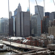Manhattan vu du Brooklyn Bridge - 2010 © Anik COUBLE