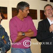 Rachid Bouchareb, Samy Naceri et Thierrry Fremaux / Photo : Anik Couble