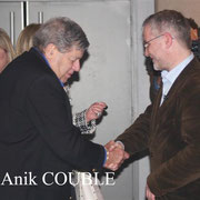 Jerry Lewis et Thierry Fremaux / Photo : Anik Couble
