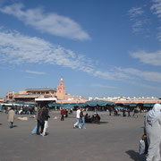 Place Jemaa El Fna - Marrakech © Anik COUBLE