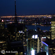 New York depuis la plate-forme d'observation Top of the Rock - 2010 © Anik COUBLE
