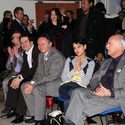 Jean-Louis TOURAINE , Najat VALLAUD-BELKACEM, Thierry BRAILLARD, Pierre-Alain MUET, Loïc CHABRIER   / Photo : Anik Couble