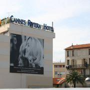 Fresque murale - Hôtel Riviera - Cannes - 2005 © Anik COUBLE