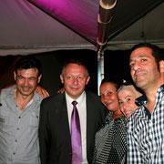 Fête de la victoire deThierry Braillard, à l'élection législative  © Anik COUBLE
