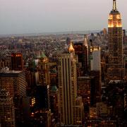 New York depuis la plate-forme d'observation Top of the Rock - 2010 © Anik COUBLE