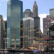 Manhattan vu du Brooklyn Bridge - 2010 © Anik COUBLE