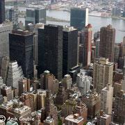 New York depuis le sommet de l'Empire State - 2010 © Anik COUBLE