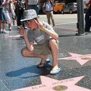 Les étoiles d' Hollywood Boulevard - 2011 © Anik COUBLE