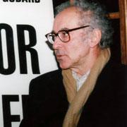 Jean-Luc Godard - Institut Lumière - Lyon - 1996 © Anik COUBLE