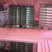 """Maquette des 3 bâtiments """"HIKARI""""  Lyon Juin 2013© Anik COUBLE"""