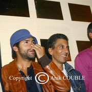 Jamel Debbouze, Rachid Bouchareb, Samy / Photo : Anik Couble