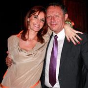Thierry Braillard et son épouse Sophie © Anik COUBLE