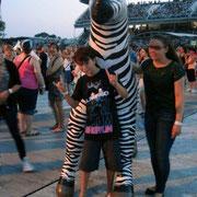 Alan Badaoui-Couble, au concert  de Madonna (MDNA Tour 2012), au stade Charles Ehrmann à Nice © Anik COUBLE