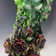 Aphrodite 2017 Pate de Verre, Cire Perdue and Lampworked Elements