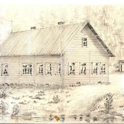 Довоенная начальная школа д.Костомукша