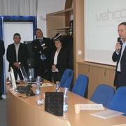 Michel-Edouard Leclerc était présent pour saluer l'événement