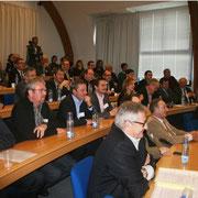 Une cinquantaine de personne a assisté au lancement de la Breizh RFID Vallée, aux démonstrations et au débat