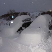 22日 2日間でこれだけ積もった、雪下ろしが大変だった