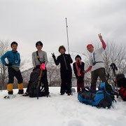 大黒山近くのピーク(1130m)